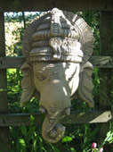 Ganesh wall statues for gardens