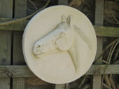 sports horse wall plaque
