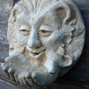 Greenman Water Feature For Birds Pale