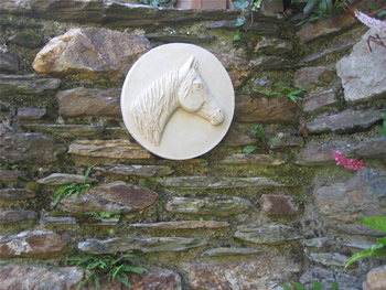 Arab Horse Wall Plaque