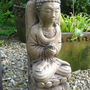 Giant Buddha Statue Dark