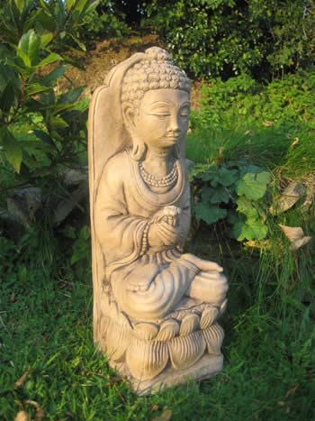Giant Garden Buddhas Dark