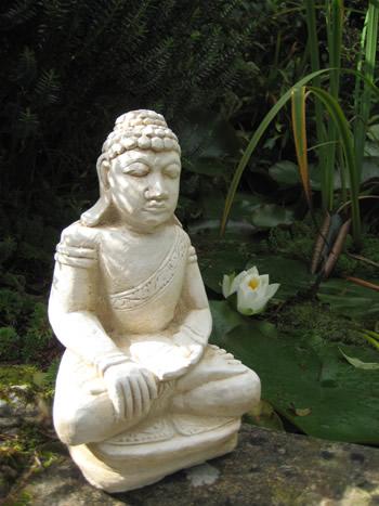 Large Budda Pale Statue