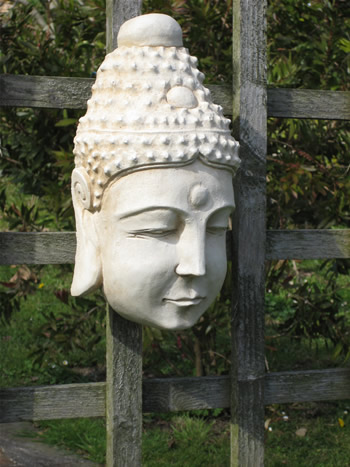 Large Buddha Head Pale