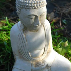 Small Buddha Ornament Pale