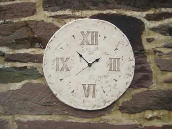 Roman Unusual Clock Pale