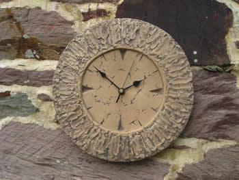 Small Round Clock Dark
