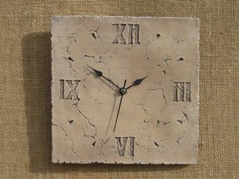 Small Roman Clock Dark