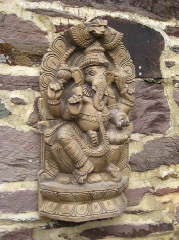 Super Ganesha Wall Decor Dark