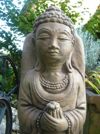 Giant Buddha Garden Statuary Dark