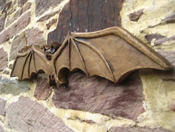 Bat Gothic Style Ornament Dark
