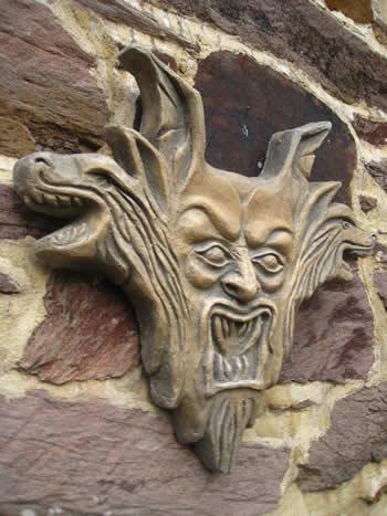 Dracula Goth Ornament Dark