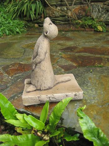 Small Meerkats Garden Decor Dark