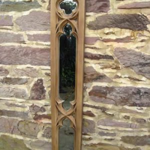Gothic Church Panel Mirror Dark