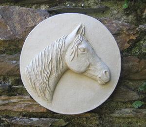 Arab Horse Wall Sculpture