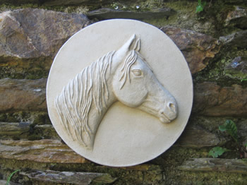 Arab Horse Wall Sculpture