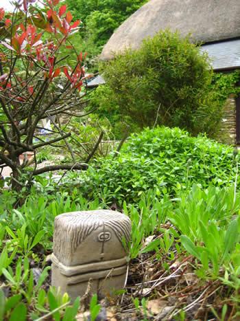 Brancusi Garden Sculptures