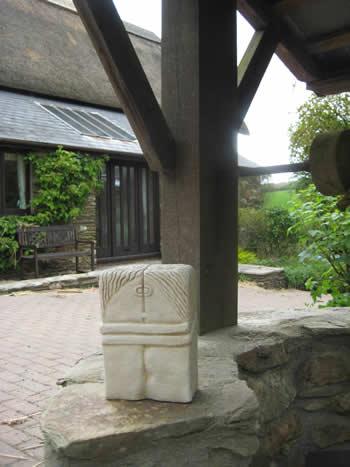Brancusi Stone Garden Statue