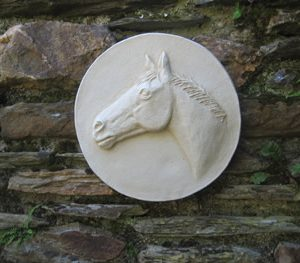 European Horse Sculpture