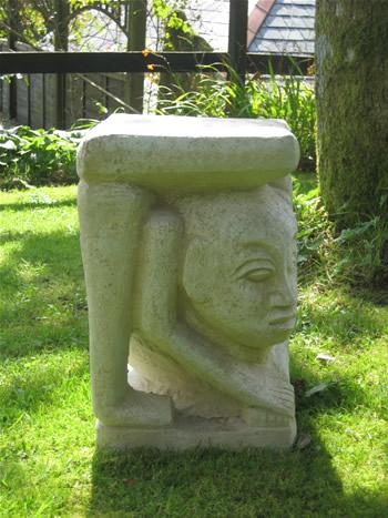 Sandwich Man Garden Sculpture
