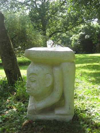 Sandwich Man Sculpture