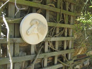 Shetland Pony Horse Sculpture