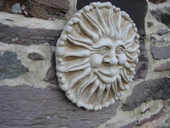 Sun Plaque Design