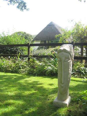 Giant Modigliani Garden Statue
