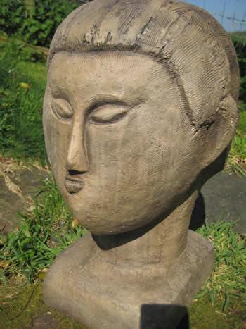 Modigliani Garden Statue