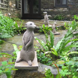 Set Of Merecats Patio Statues