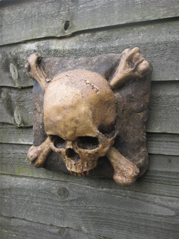 Skull And Cross Bones Dark
