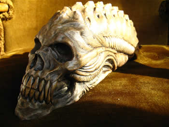 Small Alien Skull Dark